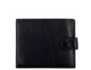 Портмоне черный Tiding Bag A7-258A - Royalbag