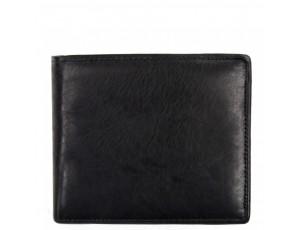 Портмоне черное Tiding Bag A7-259-1A - Royalbag