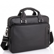 Мужская кожаная сумка для ноутбука Allan Marco RR-4011A - Royalbag
