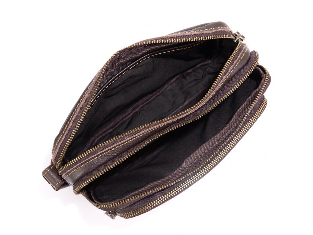 Кожаный мужской клатч Allan Marco RR-4039B - Royalbag