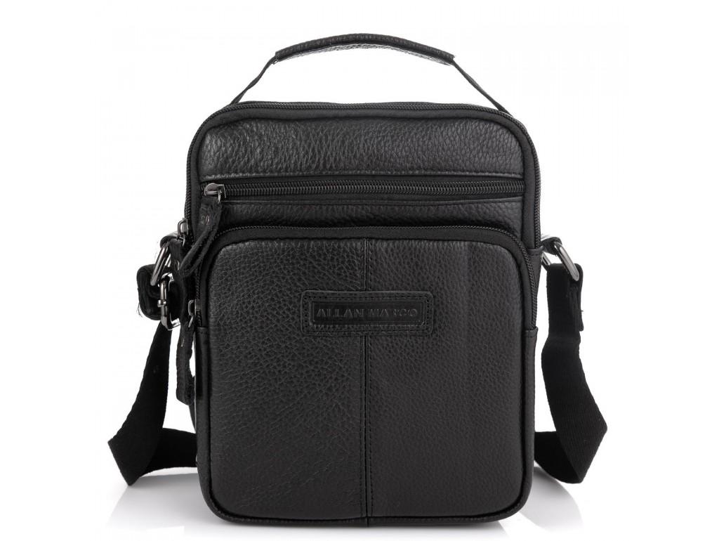 Кожаная мужская сумка через плечо Allan Marco RR-9053A - Royalbag