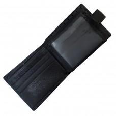 Мужское портмоне на кнопке Boston BST-B4-026BA - Royalbag