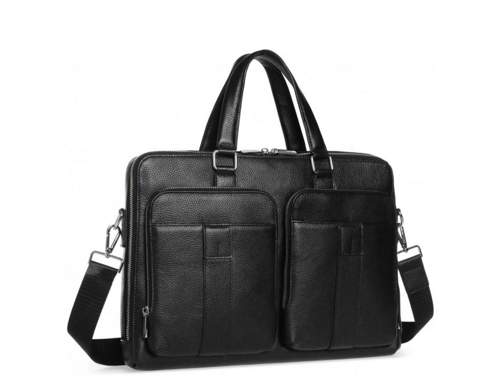 Модная мужская кожаная сумка для документов Royal Bag RB-018A - Royalbag Фото 1