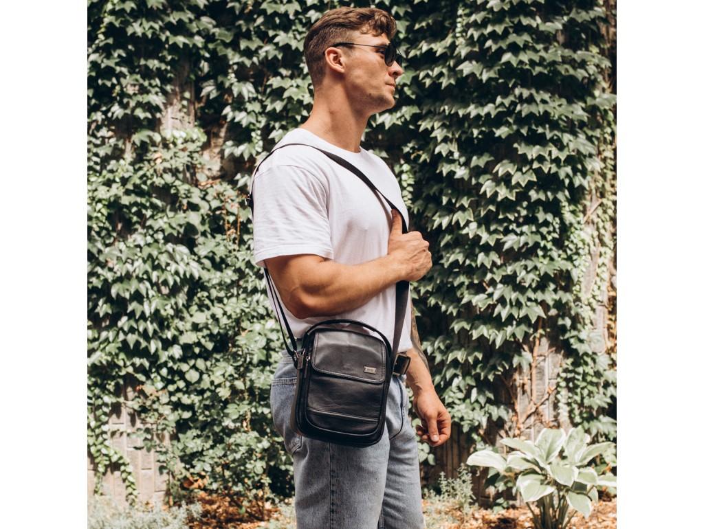 Мужская сумка через плечо натуральная кожа Ricardo Pruno RP23-2301A - Royalbag