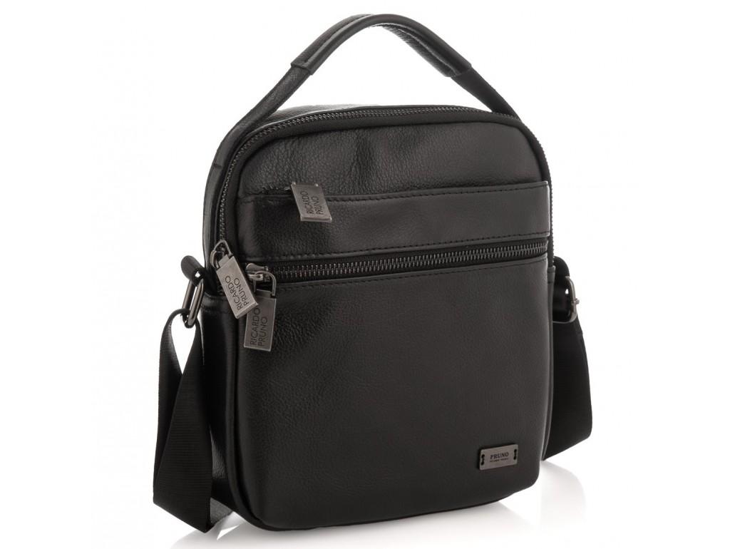 Мужская сумка через плечо натуральная кожа Ricardo Pruno RP23-6013A - Royalbag Фото 1