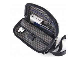 Мужская кожаная сумка через плечо Tom Stone 301BG - Royalbag