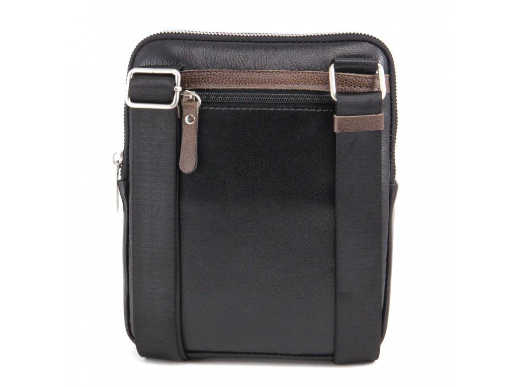 Мужская кожаная сумка через плечо Tom Stone 301BO - Royalbag