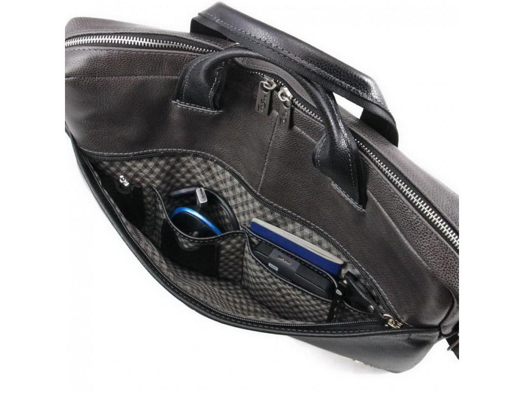Мужская деловая кожаная сумка для ноутбука Tom Stone 304B - Royalbag