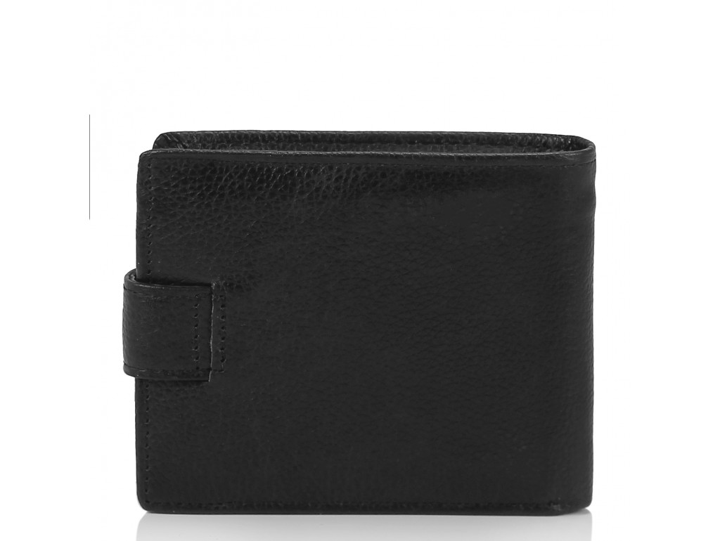 Портмоне мужское черное Tiding Bag W111-9107A - Royalbag