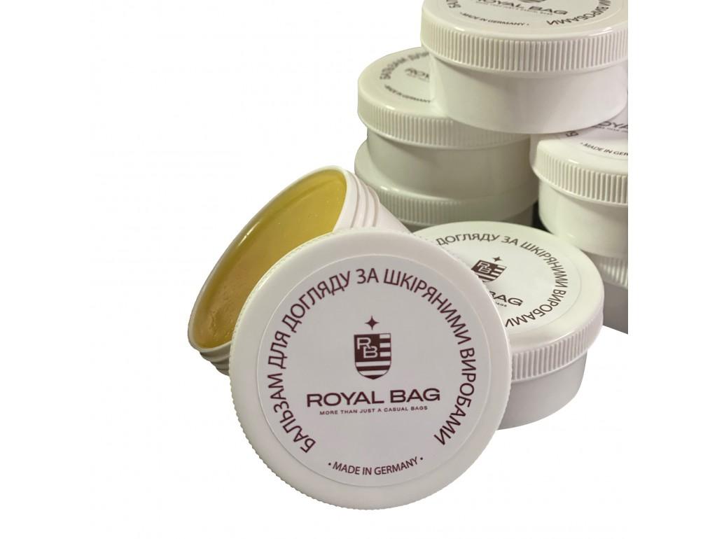 Бальзам для ухода за кожаными изделиями LB001-50 - Royalbag