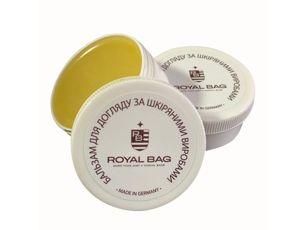 Бальзам для ухода за кожаными изделиями LB001-50 - Royalbag Фото 1