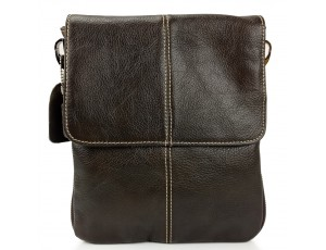Мужская кожаная сумка через плечо мессенджер Bexhill BX8005C - Royalbag