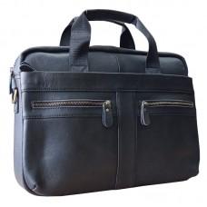Мужская кожаная сумка горизонтальная Bexhill Bx1120AG - Royalbag