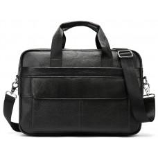 Деловая сумка мужская кожаная для документов и ноутбука Bexhill Bx1131A-1 - Royalbag