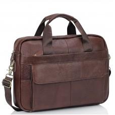 Кожаная сумка для ноутбука мужская Bexhill Bx1131B - Royalbag Фото 2