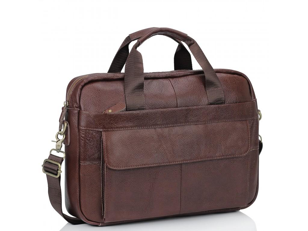 Кожаная сумка для ноутбука мужская Bexhill Bx1131B - Royalbag Фото 1
