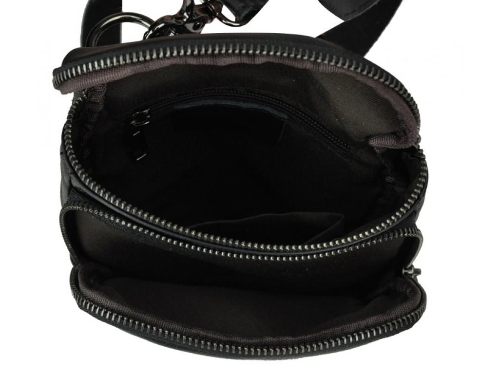 Сумка-мессенджер на плечо и на пояс мужская кожаная Bexhill Bx207-1A - Royalbag