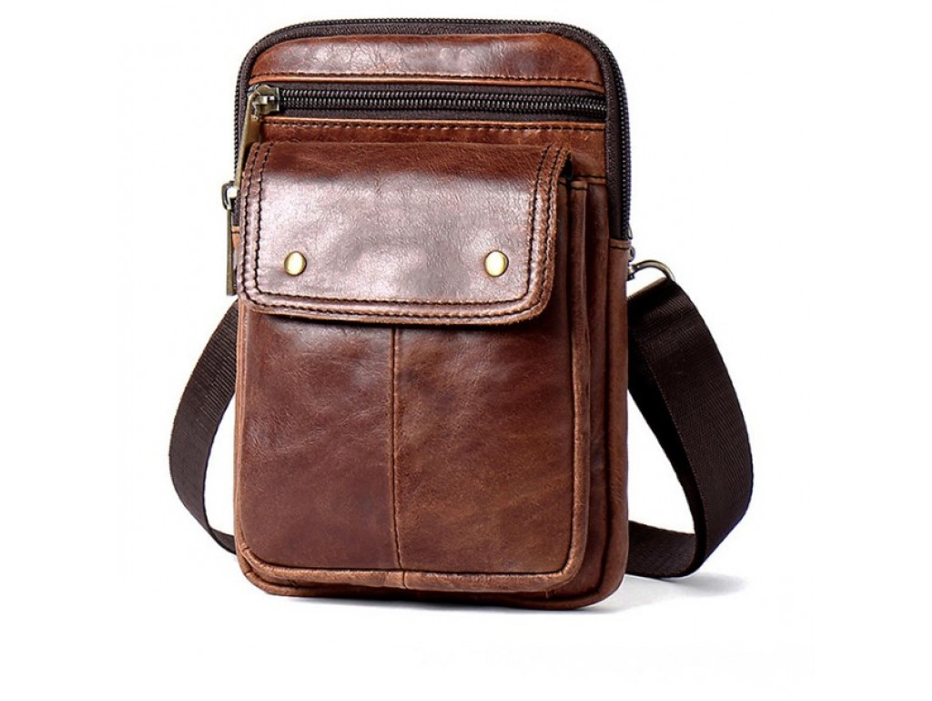 Мужская сумка через плечо BEXHILL Bx8328C - Royalbag Фото 1