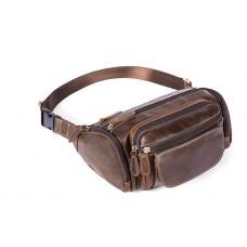 Кожаная сумка на пояс Bexhill Bx8355C - Royalbag