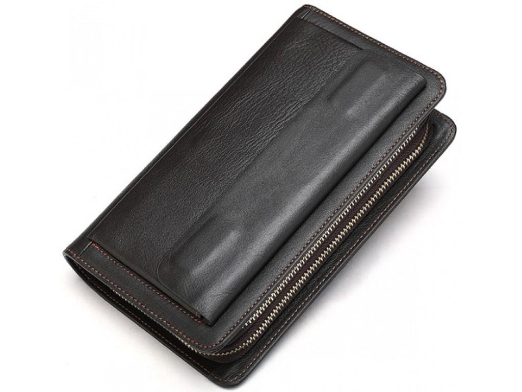 Мужской клатч коричневый Bexhill Bx9069-1C - Royalbag Фото 1