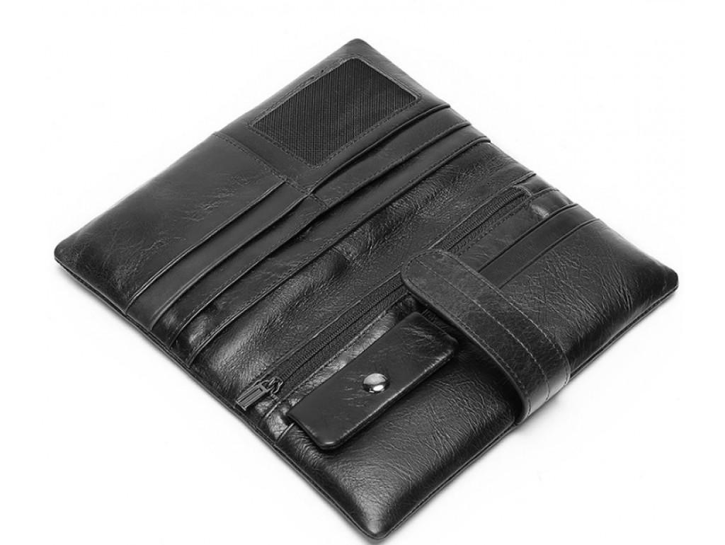 Клатч черный Bexhill Bx9202A - Royalbag