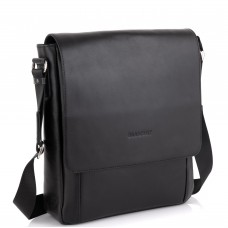 Сумка через плечо мужская черная Blamont Bn082A-1 - Royalbag Фото 2