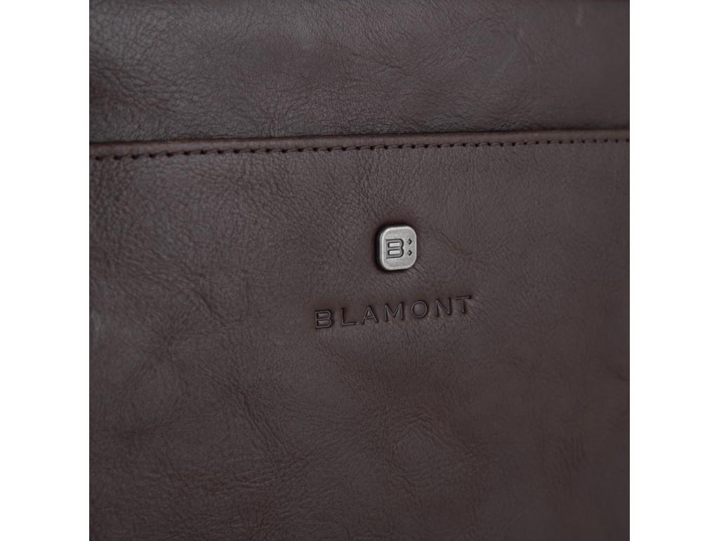 Сумка через плечо мужская кожаная Blamont P7912031C - Royalbag
