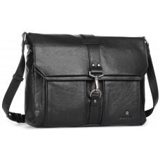 Мужская сумка-мессенджер с кожаныи ремнем Blamont P531711 - Royalbag
