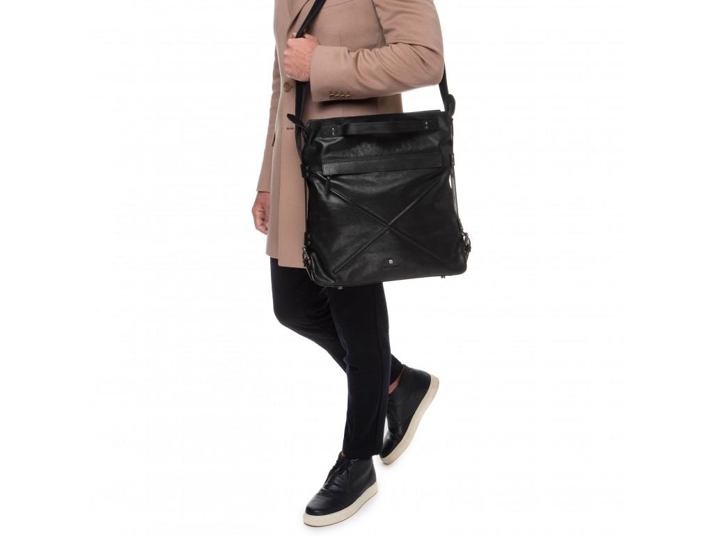 Мужская сумка премиум класса из натуральной итальянской кожи Blamont P5912051 - Royalbag