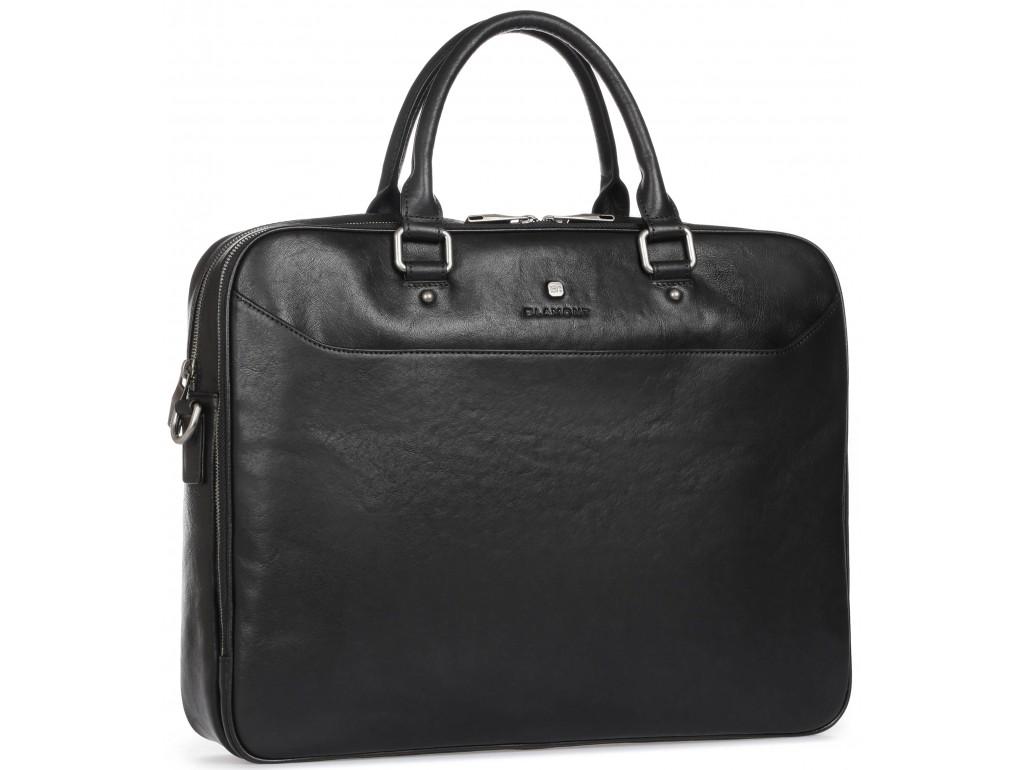 Элитная сумка-портфель мужская кожаная Blamont P5912061 - Royalbag Фото 1