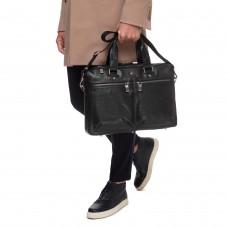 Деловая мужская кожаная сумка премиального качества Blamont P5912071