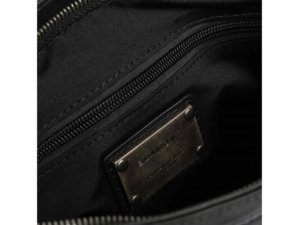 Мужской мессенджер из натуральной кожи Blamont P7870761 - Royalbag