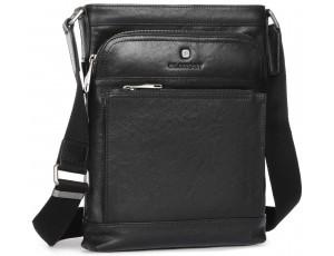 Элитная сумка-мессенджер мужская кожаная Blamont P7877721