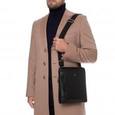 Функуціональна сумка через плече чоловіча шкіряна Blamont P7912031 - Royalbag