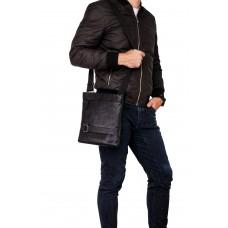 Мужская кожаная сумка через плечо Blamont P8707-6A - Royalbag