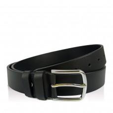 Мужской кожаный ремень черный Colmen BCH01-S-MC3500A - Royalbag