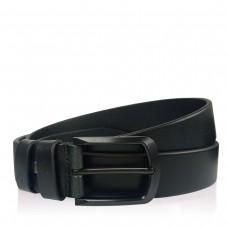 Мужской кожаный ремень цвет черный Colmen BCH01-S-MC35105A - Royalbag