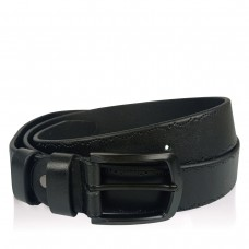 Мужской кожаный ремень цвет черный Colmen BCH01-S-MC35205A - Royalbag
