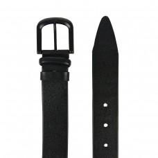 Мужской кожаный ремень черного цвета Colmen BCH01-S-MC4017A - Royalbag