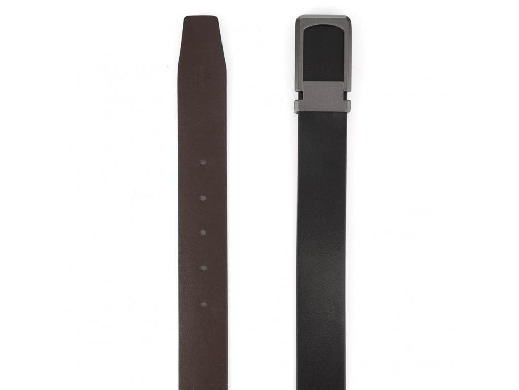 Ремень черный мужской Colmen R01-A68A - Royalbag
