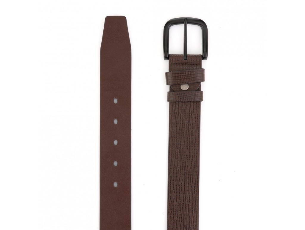 Коричневый мужской ремень Colmen R01-A76B - Royalbag