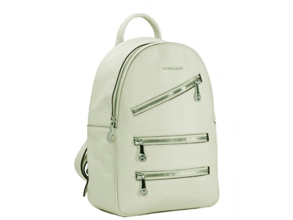 Женский рюкзак белый кожаный Fortsmann F-P117WH - Royalbag Фото 1