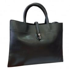 Женская черная сумка Grays F-S-GR-883A - Royalbag