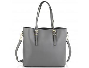 Женская серая сумка Grays GR3-173LBL - Royalbag