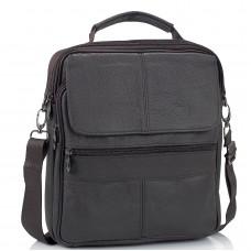 Шкіряний чоловічий месенджер HD Leather NM24-110C - Royalbag Фото 2