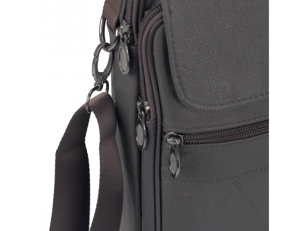 Шкіряний чоловічий месенджер HD Leather NM24-110C - Royalbag