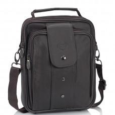 Мужская кожаная сумка-барсетка коричневая HD Leather NM24-216C - Royalbag Фото 2