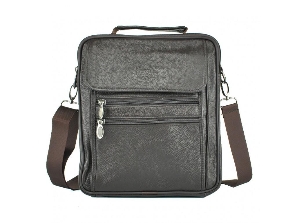 Мессенджер HD Leather NM24-109C - Royalbag Фото 1