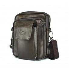 Мессенджер HD Leather NM24-358C - Royalbag Фото 2