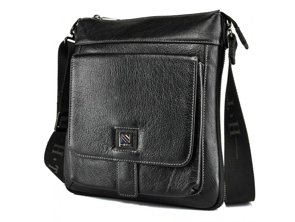 Месенджер HT Collection 7882-3 BLACK - Royalbag Фото 1